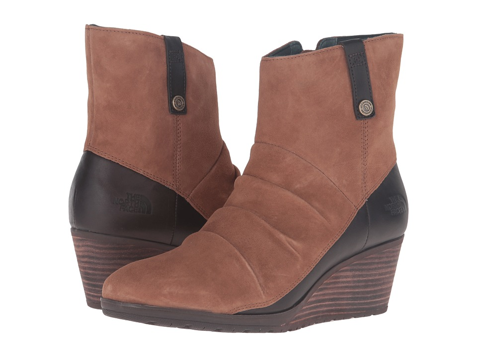 The North Face - Bridgeton Wedge Zip (Dachshund Brown/Darkest Spruce) Women