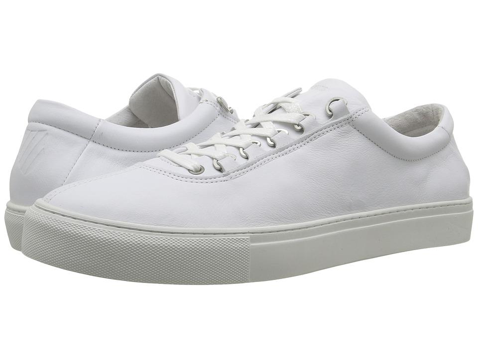 K-Swiss Court Classico (White/Off-White Leather) Men
