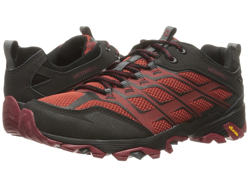 Merrell - Moab FST (Burgundy/Black) Men