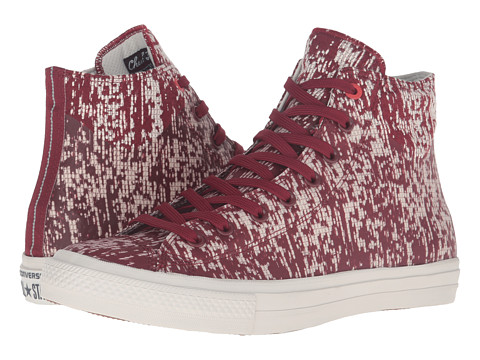 Converse Chuck Taylor® All Star® II Translucent Rubber Hi - Red Block/Buff/Black