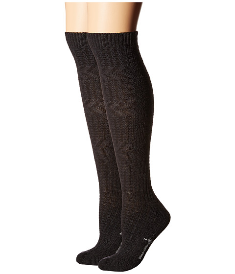 Smartwool Wheat Fields Knee Highs - Charcoal Heather