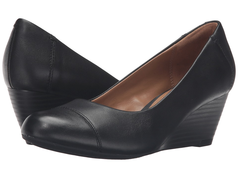 Clarks Brielle Andi (Black Leather) Women