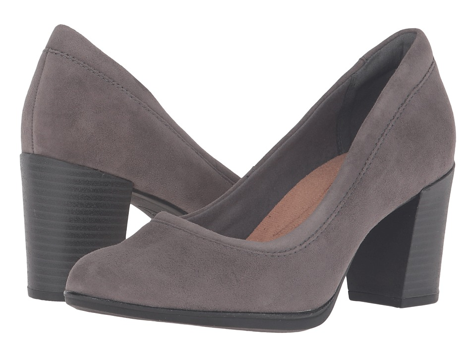 Clarks Araya Moon (Grey Suede) Women