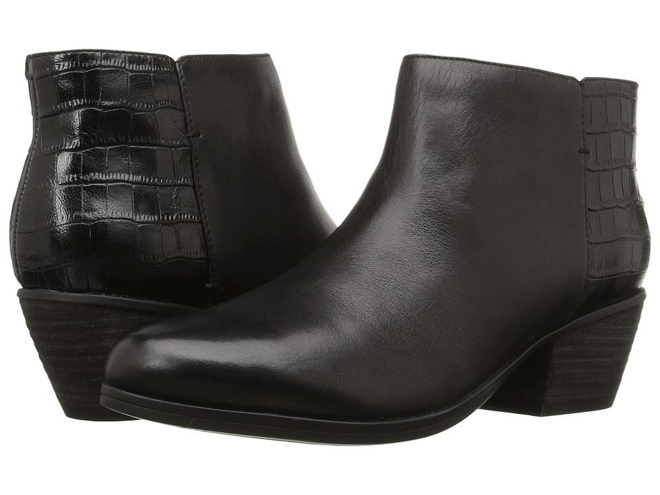 Clarks - Gelata Italia (Black Combo Leather) Women