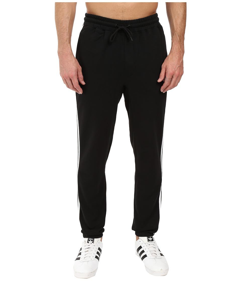 Image of adidas Skateboarding - BB Sweatpants (Black/White) Men's Casual Pants
