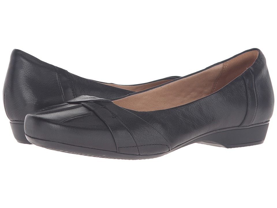 Clarks - Blanche Fria (Black Leather) Women