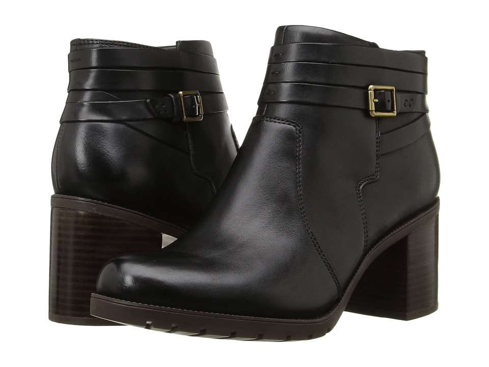 Clarks - Malvet Maria (Black Leather) Women