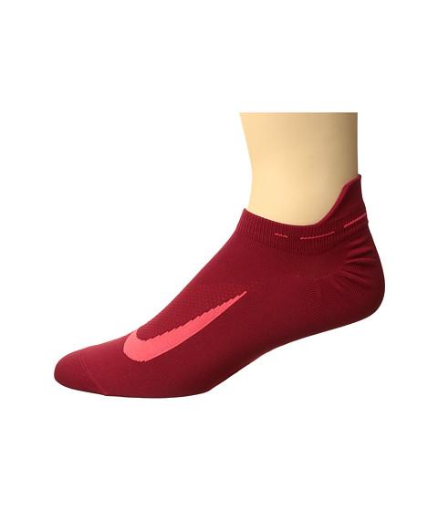 Nike Elite Running Lightweight No Show - Gym Red/Bright Crimson/Bright Crimson