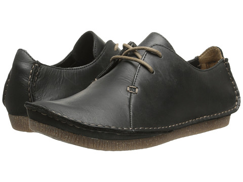 Clarks Janey Mae - Black Leather