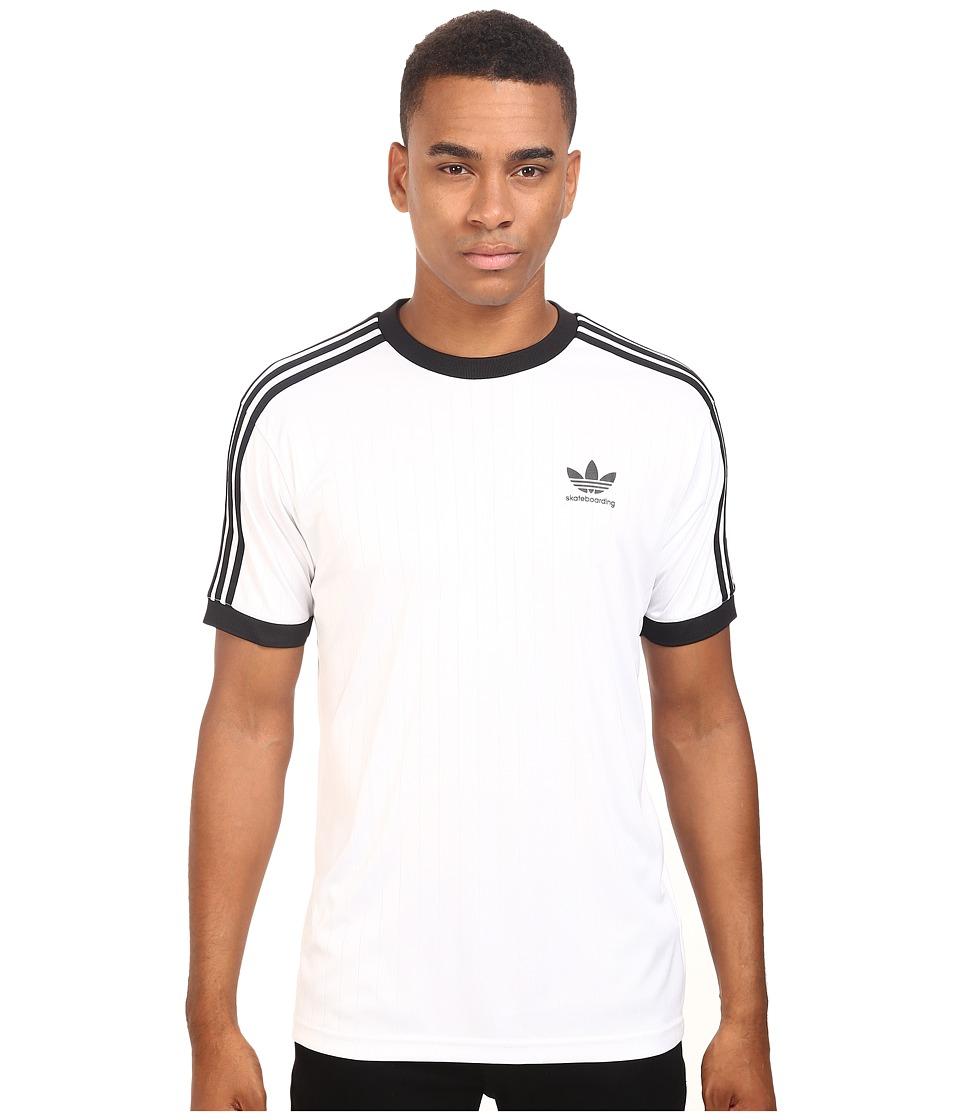 adidas Skateboarding Clima Club Jersey (White/Black) Men
