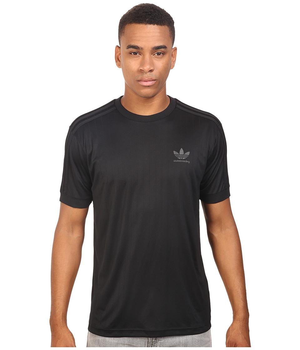 adidas Skateboarding Clima Club Jersey (Black) Men