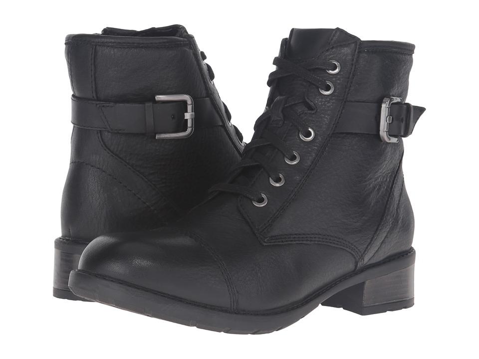 Clarks - Swansea Ledge (Black Leather) Women