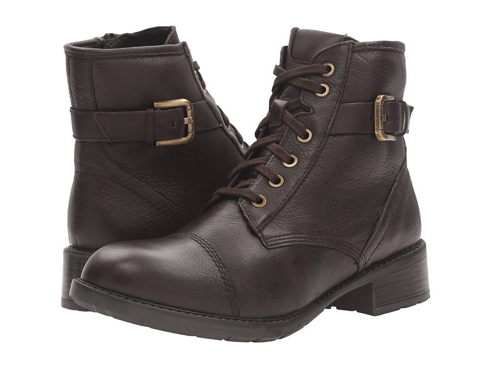 Clarks - Swansea Ledge (Dark Brown Leather) Women