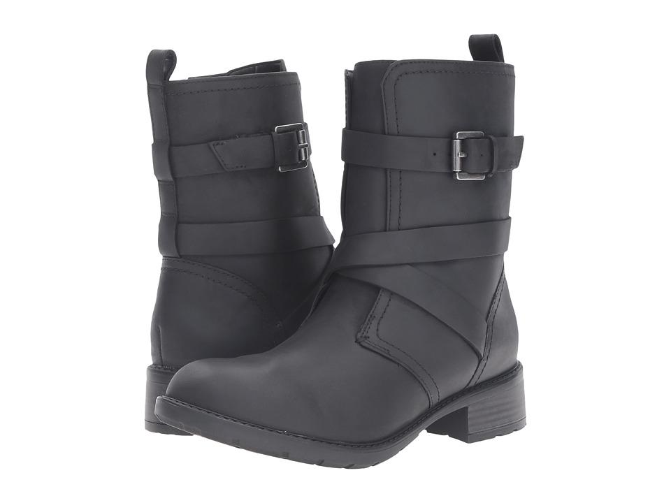 Clarks Swansea Tobin (Black Leather) Women