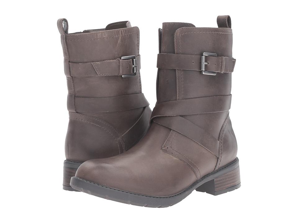 Clarks - Swansea Tobin (Khaki Leather) Women