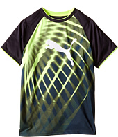 Puma Kids - Short Sleeve Puma Cat Graphic Tee (Big Kids)
