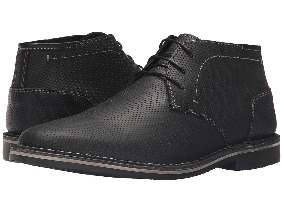 Steve Madden Helee1 (Extended Sizes) (Black) Men