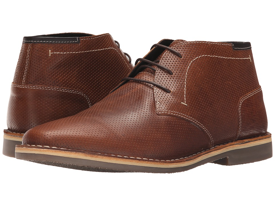 Steve Madden Helee1 Cognac Mens Lace up casual Shoes