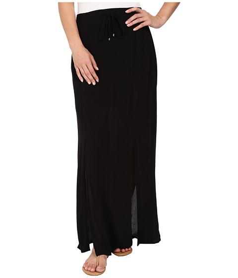 Splendid Rayon Crinkle Gauze Maxi Skirt