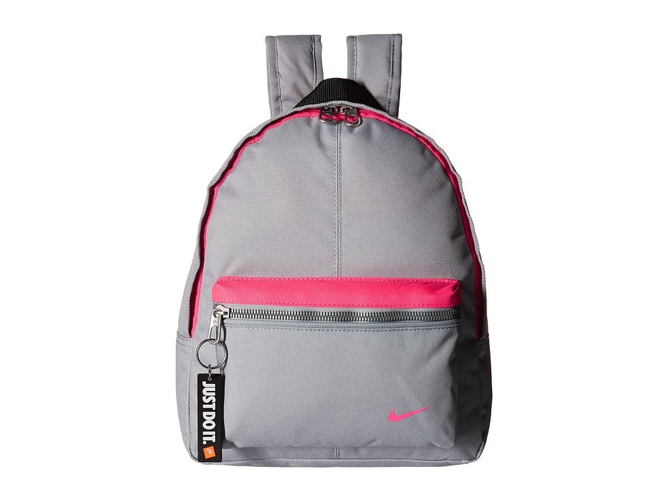 Nike - Young Athletes Classic Base Backpack (Wolf Grey/Wolf Grey/Hyper Pink) Backpack Bags