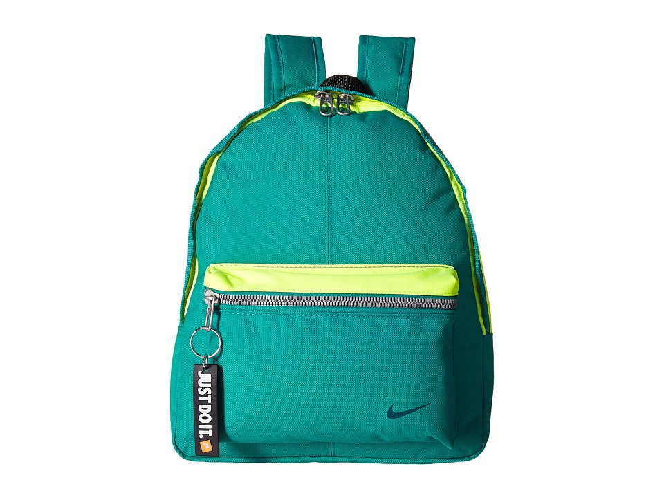 Nike - Young Athletes Classic Base Backpack (Rio Teal/Volt/Midnight Turquoise) Backpack Bags