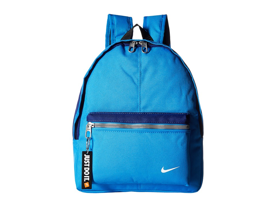 Nike - Young Athletes Classic Base Backpack (Light Photo Blue/Deep Royal Blue/White) Backpack Bags