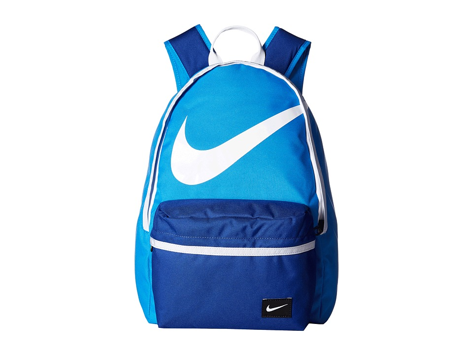 Nike - Young Athletes Halfday BTS Backpack (Light Photo Blue/Deep Royal Blue/White) Backpack Bags