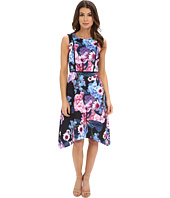 Adrianna Papell - Print Floral Scuba Dress