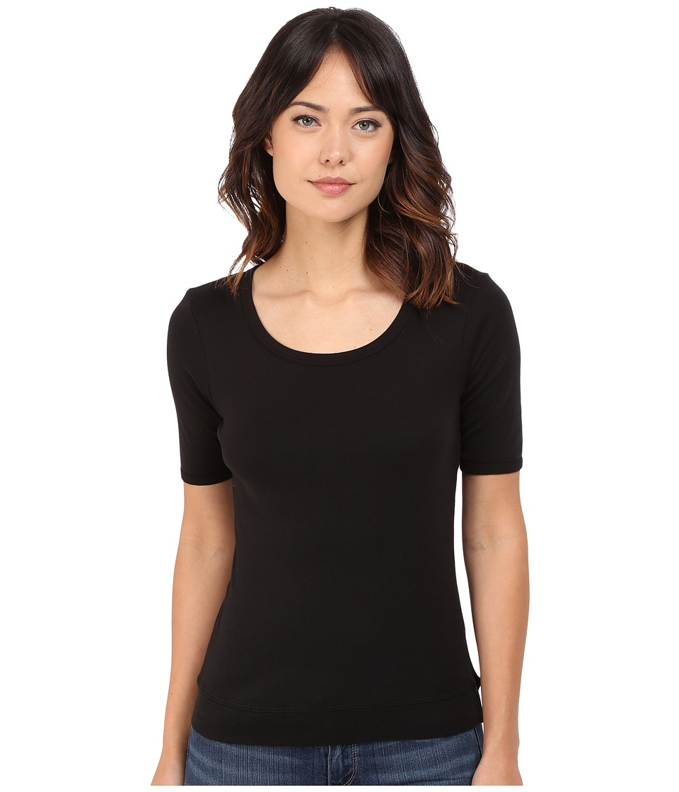 Splendid Shrunken Tee (Black) Women