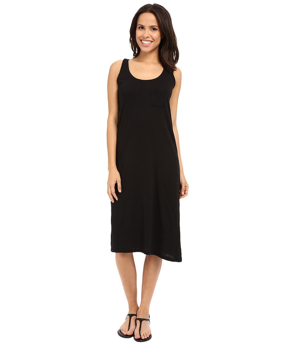Allen Allen Racerback Tank Dress Black Womens Dress