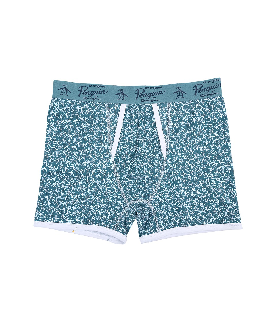 Original Penguin Single Boxer Brief Brittany Blue Toss Mens Underwear