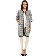 Adrianna Papell - Gingham Jacket Coat