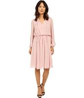 Adrianna Papell - Print Crinkle Chiffon Dress