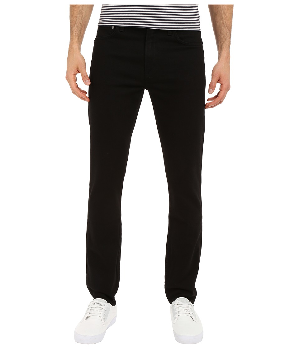 A Gold E Skinny in Black Black Mens Jeans