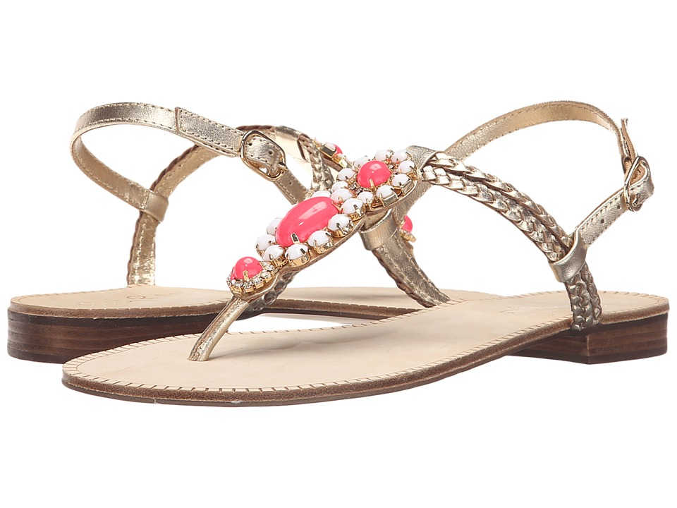 Lilly Pulitzer - Sole Seaurchin Sandal (Gold Metal) Women's Sandals