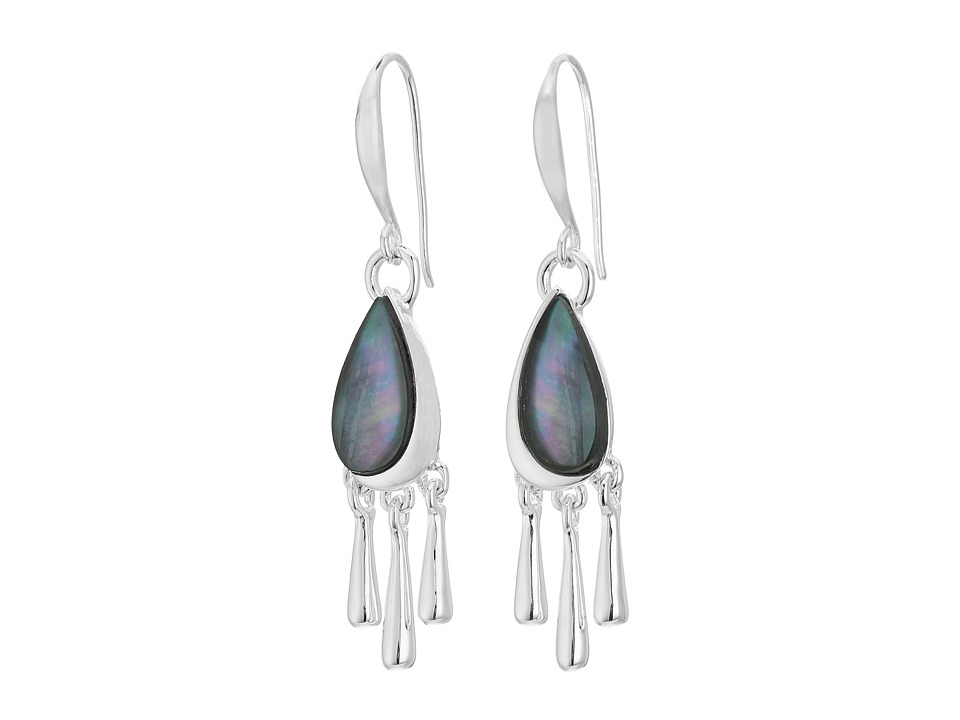 Robert Lee Morris Black Shaky Drop Earrings Black Earring