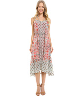 Adrianna Papell - Print Chiffon Knit Dress