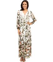 Adrianna Papell - Print Flat Chiffon Maxi Dress