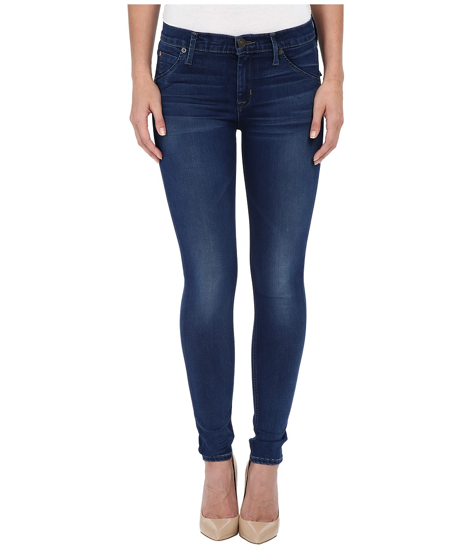 Hudson Lilly Mid Rise Ankle Skinny in Counter Attack Counter Attack Womens Jeans