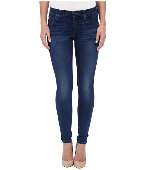 Hudson Lilly Mid-Rise Ankle Skinny in Counter Attack