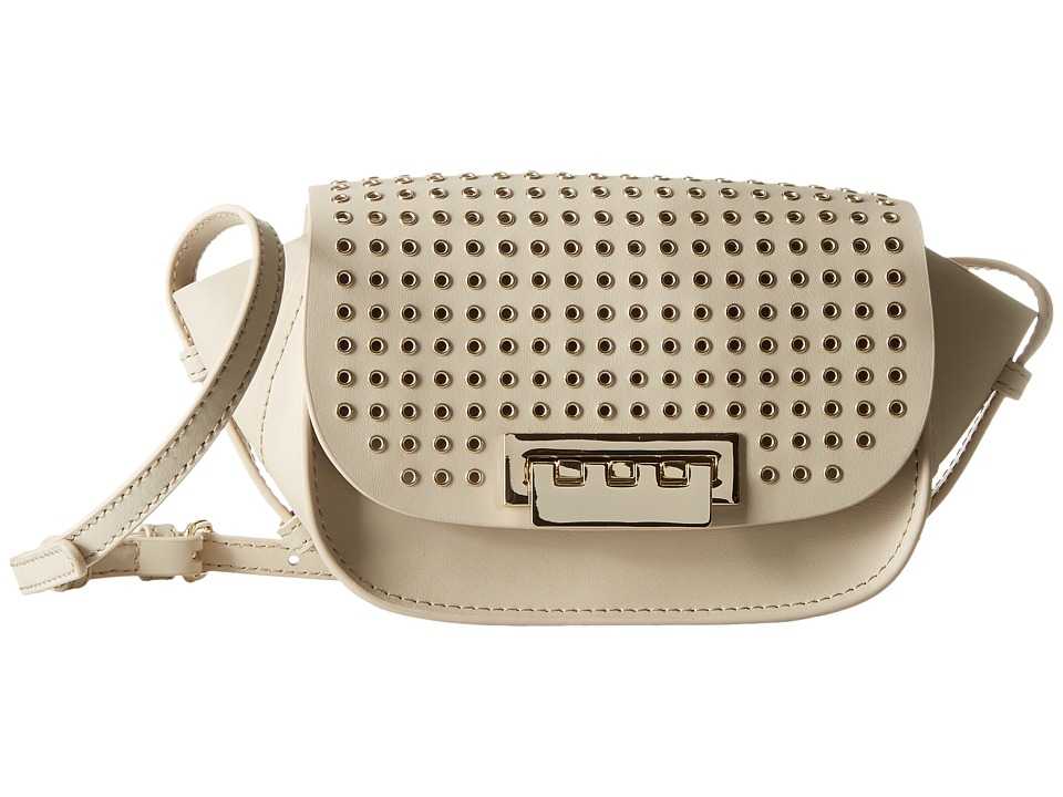 ZAC Zac Posen - Eartha Iconic Micro Accordian Crossbody (Cream) Cross Body Handbags