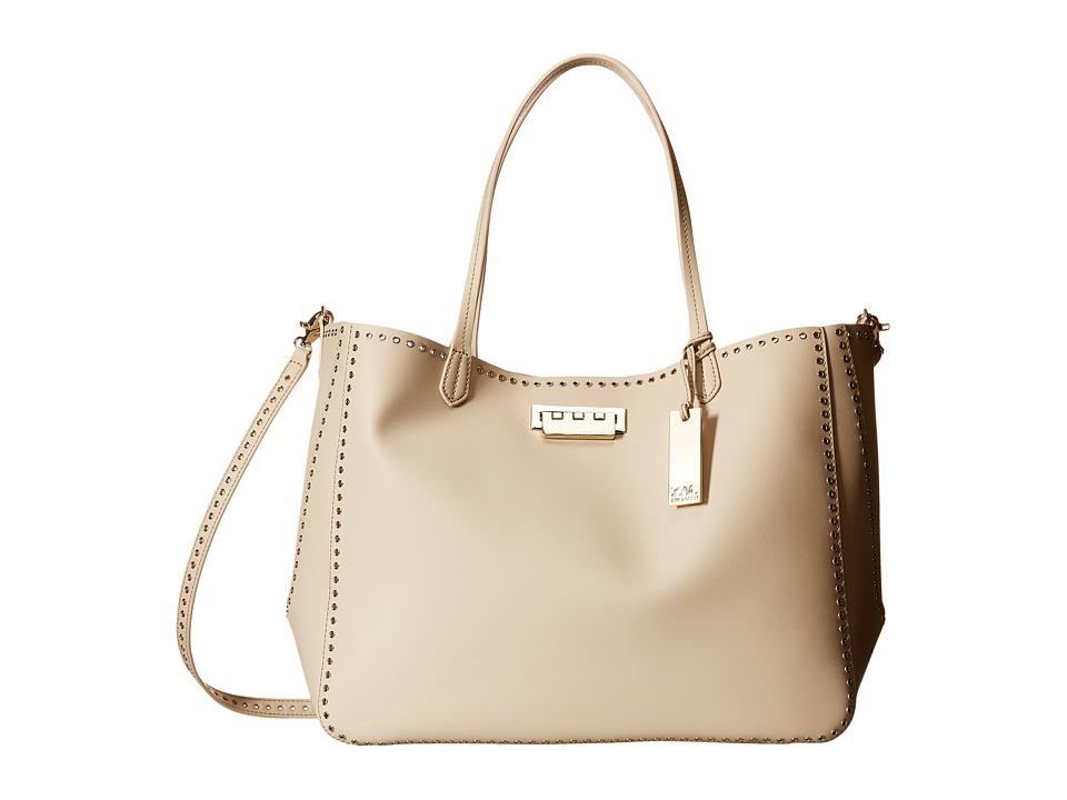 ZAC Zac Posen - Eartha Iconic Signature Shopper (Cream) Handbags