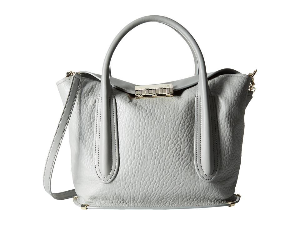 ZAC Zac Posen - Blythe Fold-Over Satchel (Elephant) Satchel Handbags