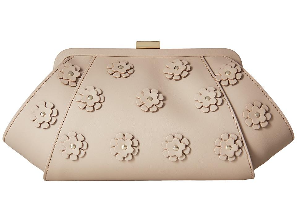 ZAC Zac Posen - Posen Clutch I (Blush) Clutch Handbags