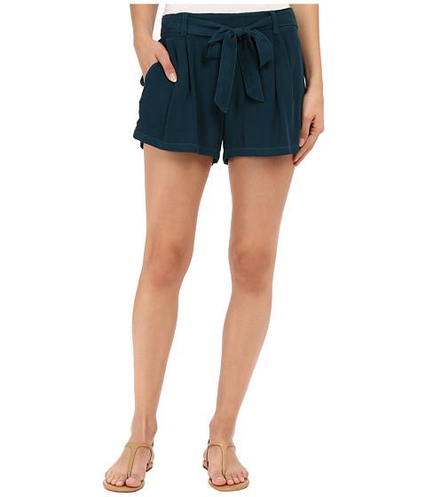 Splendid Rayon Voile Tie Shorts