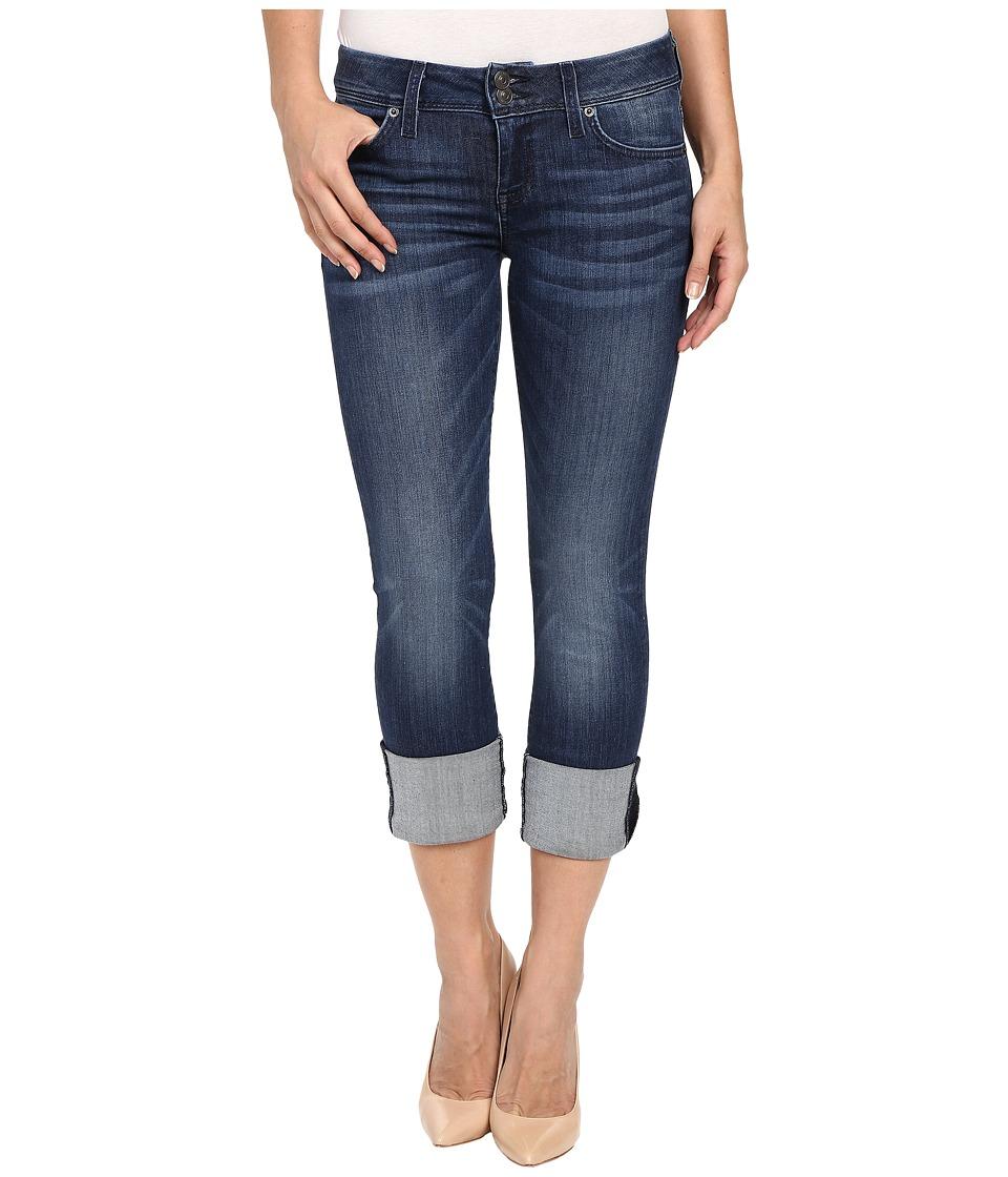 Hudson Ginny Crop in Battalion Battalion Womens Jeans