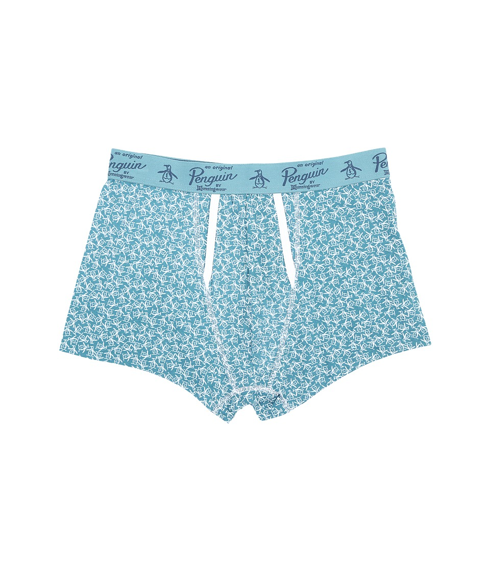 Original Penguin Single Trunk Brittany Blue Toss Mens Underwear