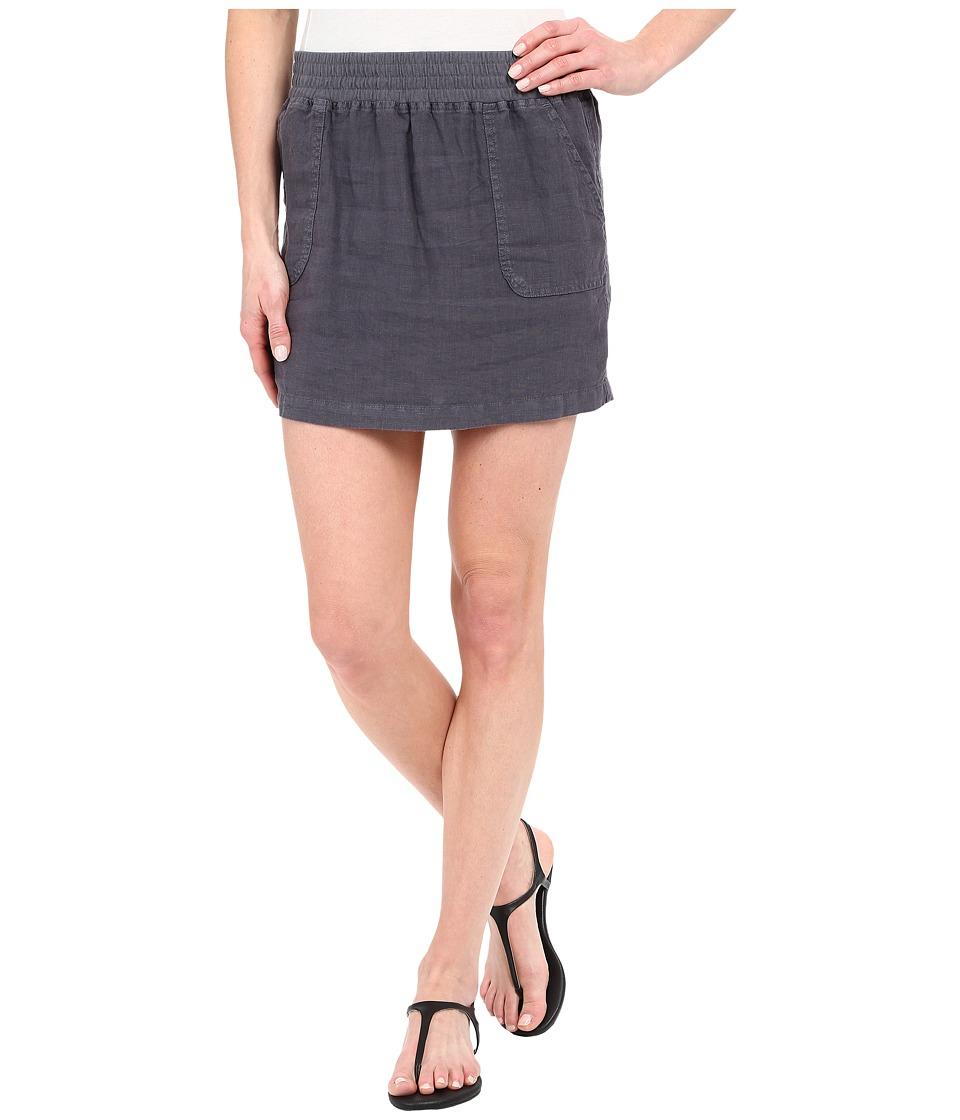Allen Allen Short Cargo Skirt Flint Womens Skirt