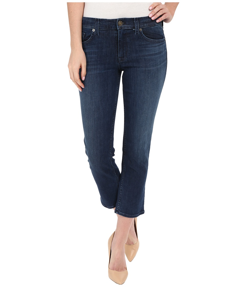 Hudson Fallon Crop in Canal Canal Womens Jeans