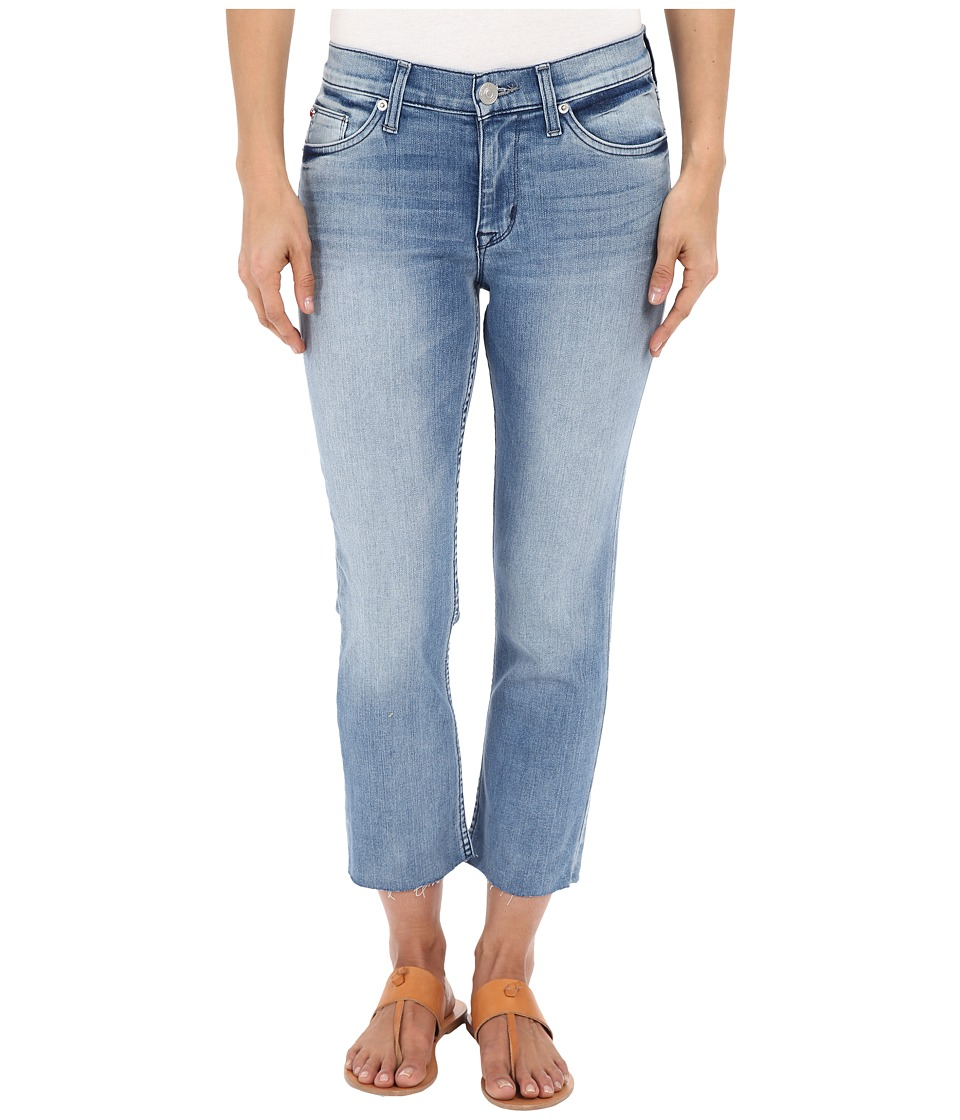 Hudson Fallon Crop with Raw Hem in Altair Altair Womens Jeans